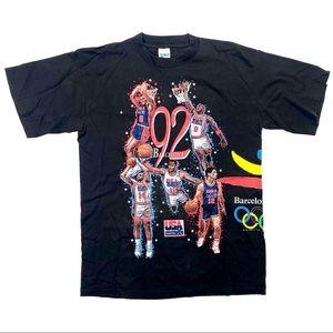 Vintage '92 Barcelona Olympics Dream Team T-Shirt